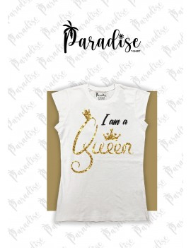 "T-shirt ""I Am A Queen"""