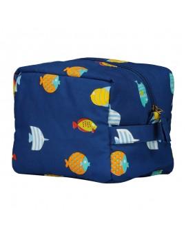 Beauty Case New Fish Blu